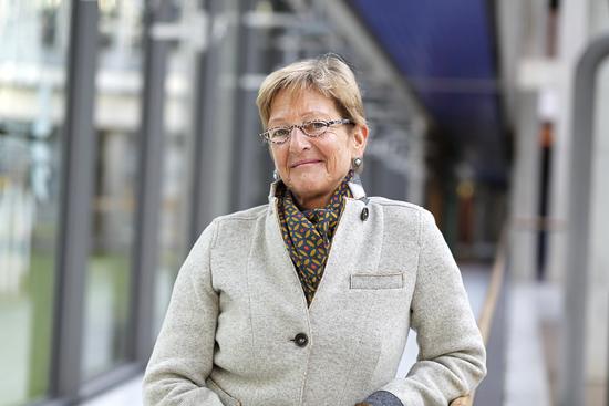 Referentin Elke Kellmann von der Deutschen Rentenversicherung Westfalen - Foto: privat